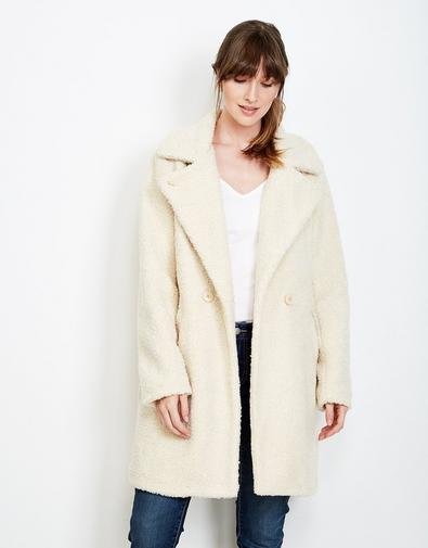 Manteau en teddy